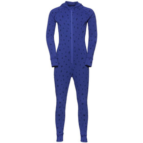 Odlo Active Warm One Piece Suit Kids clematis blue